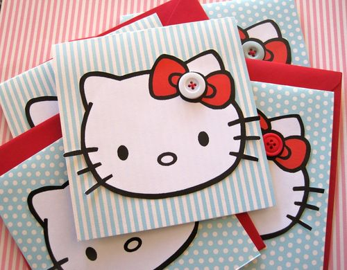 Hello kitty invites2